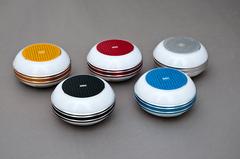 PARLANTE BLUETOOTH USB C/LUZ NE/RO/DOR/PLA/AZUL