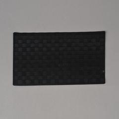 INDIVIDUAL TRENZADO PVC NEGRO 30*45CM