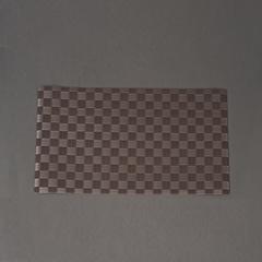INDIVIDUAL TRENZADO PVC GRIS 30*45CM
