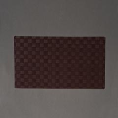 INDIVIDUAL TRENZADO PVC MARRON 30*45CM