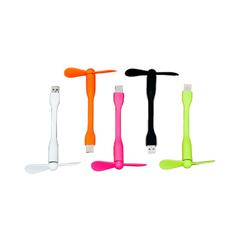 VENTILADOR USB FLEX VDE/BCO/NJA/NGRO/ROJO