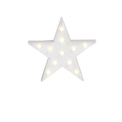 CARTEL C/LUCES LED ESTRELLA 26*26CM